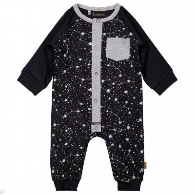 Bess baby jumpsuit space black