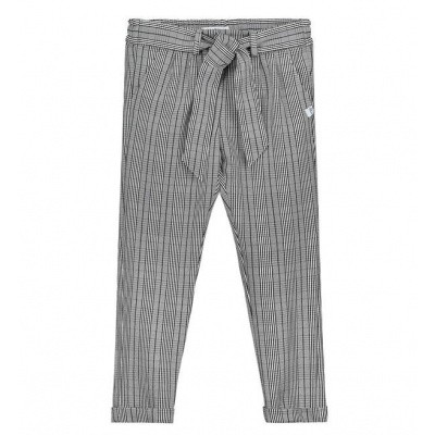 Foto van Nik & Nik girls Fabienne Pants Off White Check