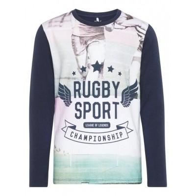 Foto van Name it longsleeve Nkmjaro rugby sport
