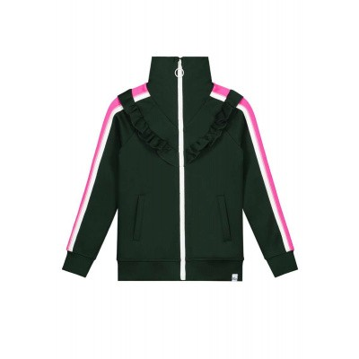Nik & Nik girls Lucky Trackjacket Bottle Green