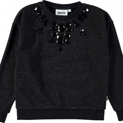 Foto van Molo girls sweater Maila black