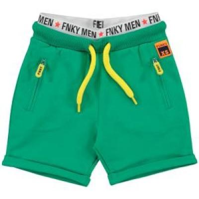 Foto van Funky xs boys short bright green
