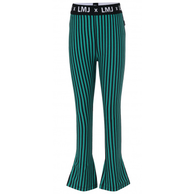 Foto van Little miss juliette pants green stripe