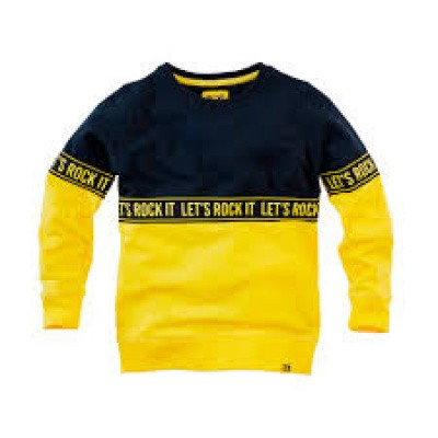 Foto van Z8 Boys Sweater Thijmen Midnight Navy/Lazy Lemon