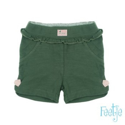 Foto van Feetje Baby Girl Short Wild Thing Army