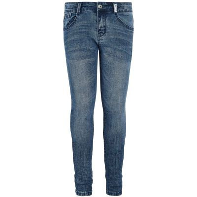 Foto van Retour girls jeans Bowien medium blue denim