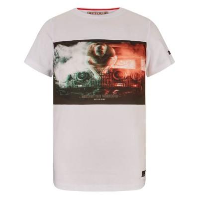 Foto van Retour Boys T-Shirt Flynn White
