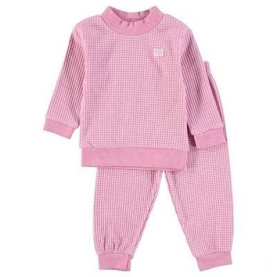 Feetje pyjama pink melange