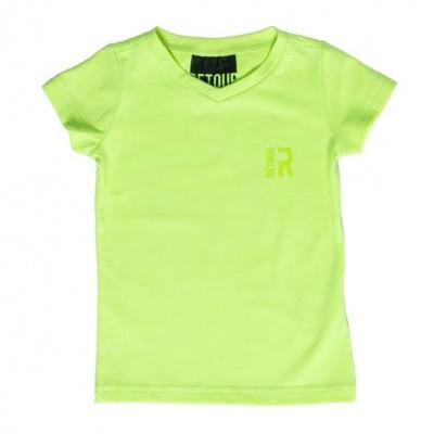 Retour boys T-shirt Sean Neon Yellow