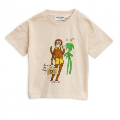Foto van Mini Rodini cool monkey sp tee