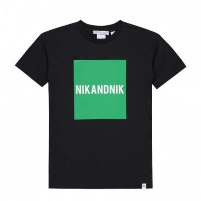 Foto van Nik & Nik Boys Marten t-shirt Black Green block