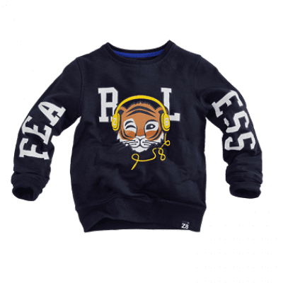 Foto van Z8 boys sweater Trevor midnight navy