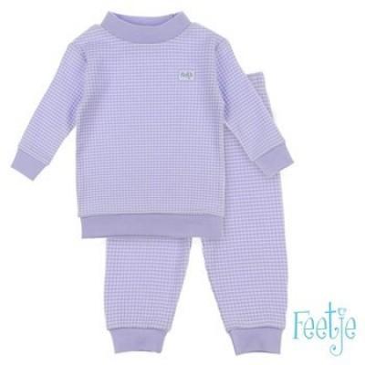 Foto van Feetje baby pyjama lila melange