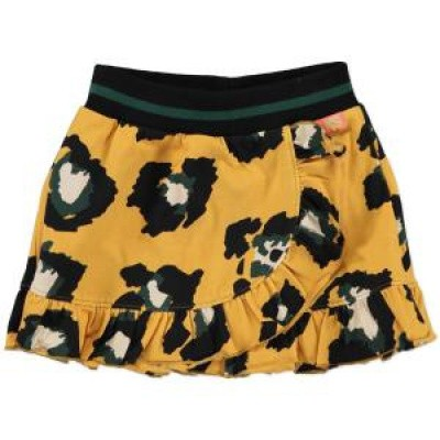 Foto van Funky xs girls GL Leopard Skirt rok warm yellow
