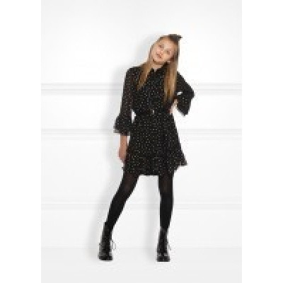 Nik & Nik girls Aubrey Dress Black