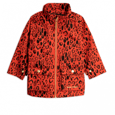 Foto van Mini rodini leopard piping jacket