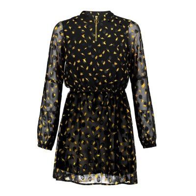 Frankie & Liberty Lavin Dress Black Gold print