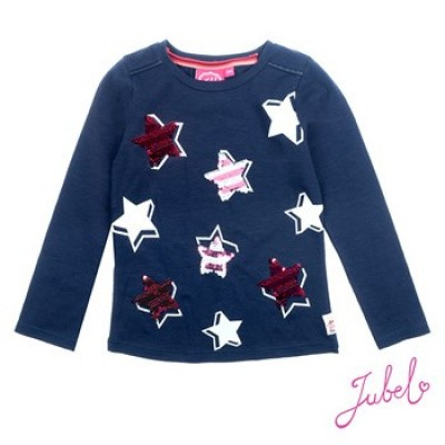 Foto van Jubel Longsleeve All over print Lucky Star