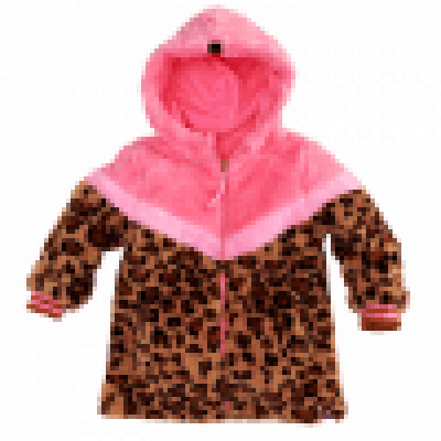 Foto van Z8 baby girl Borgvest Sandy Leopard/Popping pink
