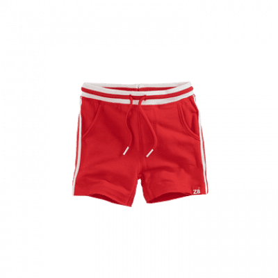 Foto van Z8 boys short Mees red