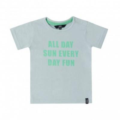 Foto van Beebielove boys t-shirt all day sun Pastel green