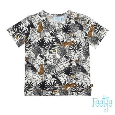 Feetje Baby Boy T-Shirt Oh Yeah Born To Be Wild Off White