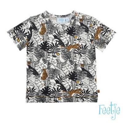 Foto van Feetje Baby Boy T-Shirt Oh Yeah Born To Be Wild Off White