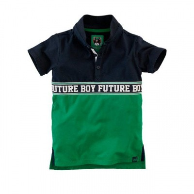 Foto van Z8 Boys Polo Adam Midnight Navy/Groovy Green