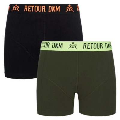 Foto van Retour Boys Giano Shorts Black 2 pack