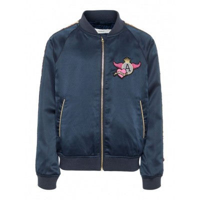 Foto van Name it girls summerjacket blue