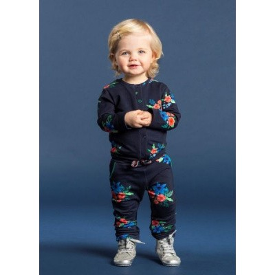 Quapi baby girl Ventana Jumpsuit Navy Flower