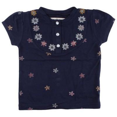 Foto van Small rags baby girl shirt flower navy