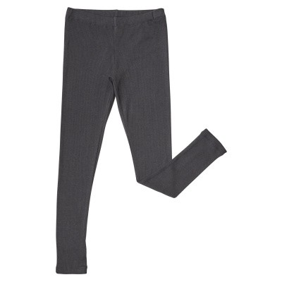 Foto van CarlijnQ girls Basics-Legging (Grey-Rib)