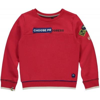 Foto van Quapi Boys Thias sweater Race Red