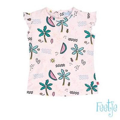 Foto van Feetje baby girls T-shirt korte mouw AOP Tropical