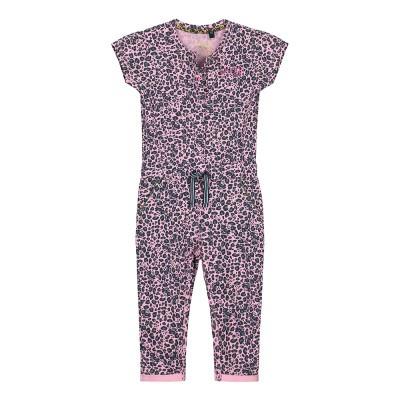 Foto van Quapi Baby Girl Bess Jumpsuit Light Pink Leopard
