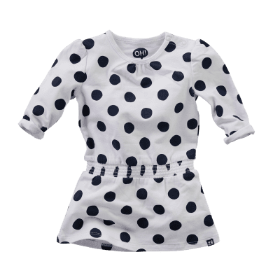 Z8 newborn girls Maan Bright/White/All over print Dots