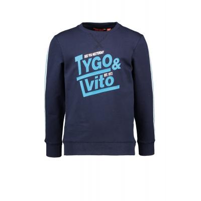 Foto van Tygo & Vito sweater navy