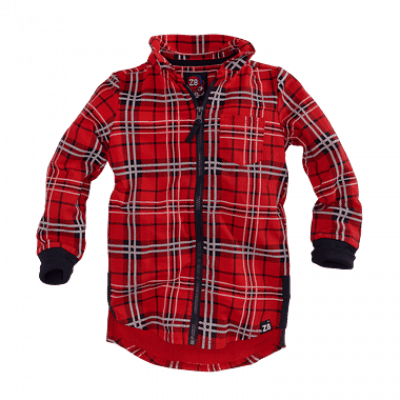 Z8 boys blouse baas red