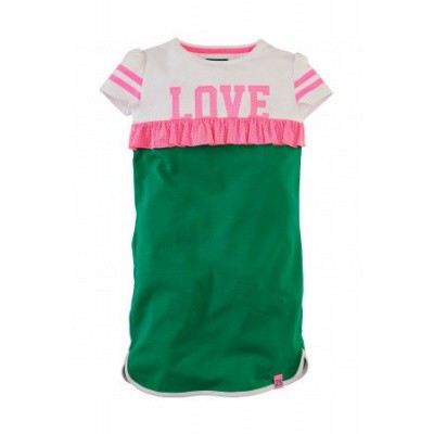 Foto van Z8 girls Tiffany Dress Groovy Green/Bright White