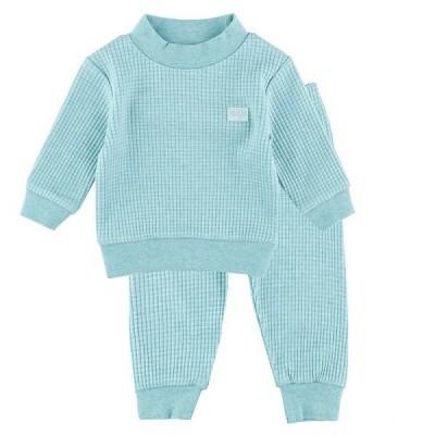 Foto van Feetje baby pyjama green melange