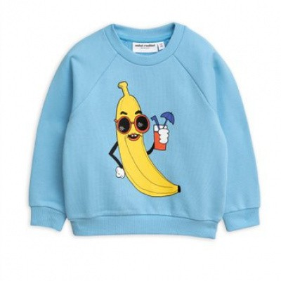 Foto van Mini rodini banana sp sweatshirt