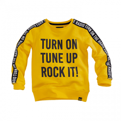 Foto van Z8 boys sweater Vic yellow