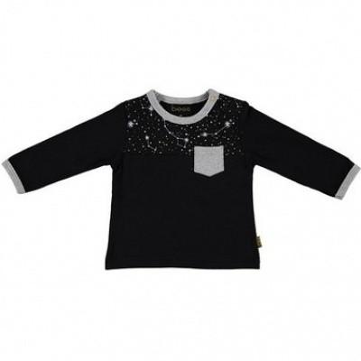Bess baby long sleeve space black