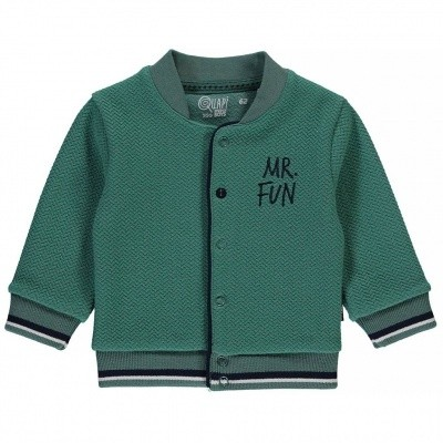 Quapi newborn vest Zander vintage green