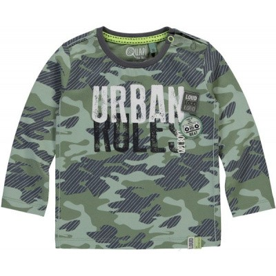 Quapi baby boy long sleeve Raaf camo