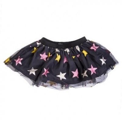 Foto van Beebielove baby girls Skirt Stars GLD