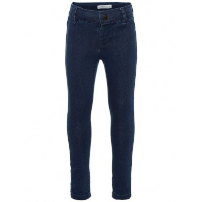 Foto van Name it skinny fit jogdenim girls dark blue
