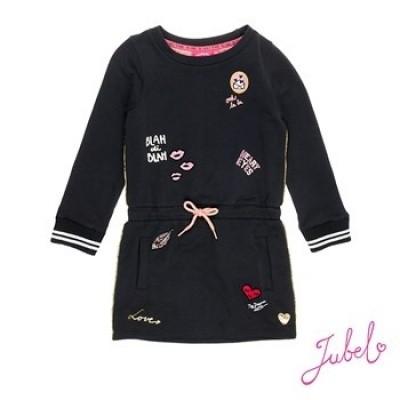 Jubel jurk black badges