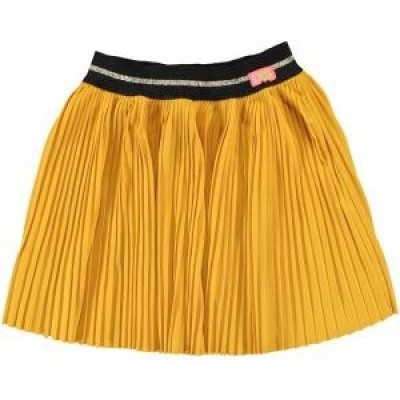 Foto van Funky xs girls skirt GM Pleat warm yellow